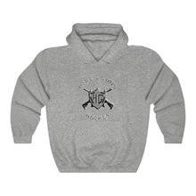 Hooded Sweatshirt - (12 colors available) - Hired guns_4