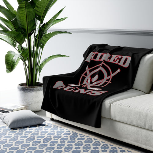 Sherpa Fleece Blanket - Hired Guns