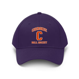 "Twill Hat ""velcro closure"" - (5 colors) CHEROKEE"