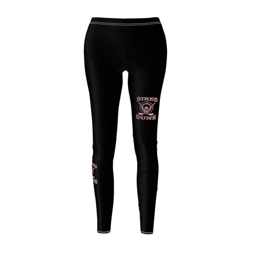 Women's Cut & Sew Casual Leggings - Hired Guns