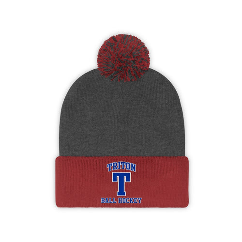 Pom Pom Beanie - (8 colors available)  - Triton