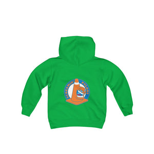2 SIDED Youth Heavy Blend Hooded Sweatshirt - 12 COLORS - PYLONS