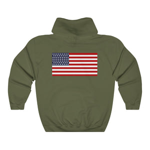 2 SIDED Unisex Heavy Blend™ Hooded Sweatshirt 12 COLOR -  MINUTE MEN