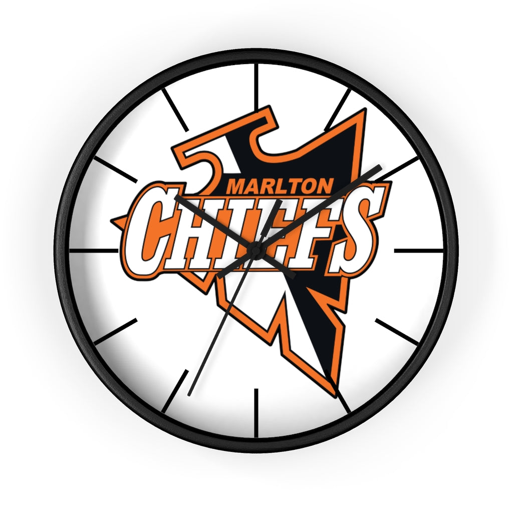 Wall clock - MARLTON  (3 colors frames available)