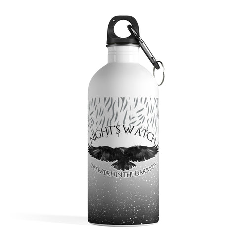 Stainless Steel Water Bottle - Nightswatch