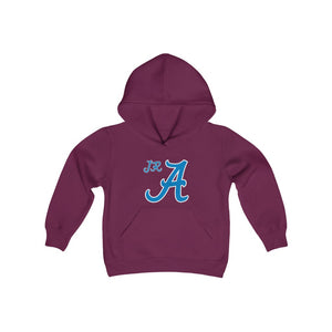 2 sided Youth Heavy Blend Hooded Sweatshirt -JR Americans
