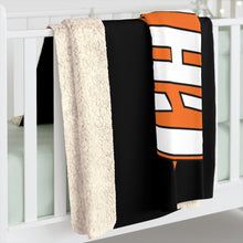 Sherpa Fleece Blanket -MARLTON