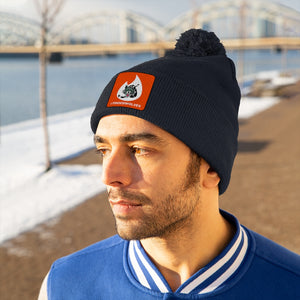 Pom Pom Beanie - (8 colors available)  - Tinderwolves