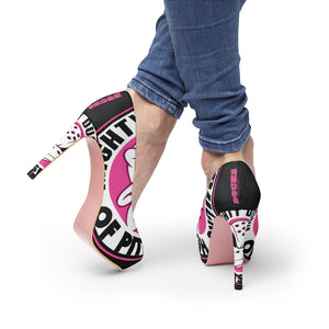 Women's Platform Heels - Ducks