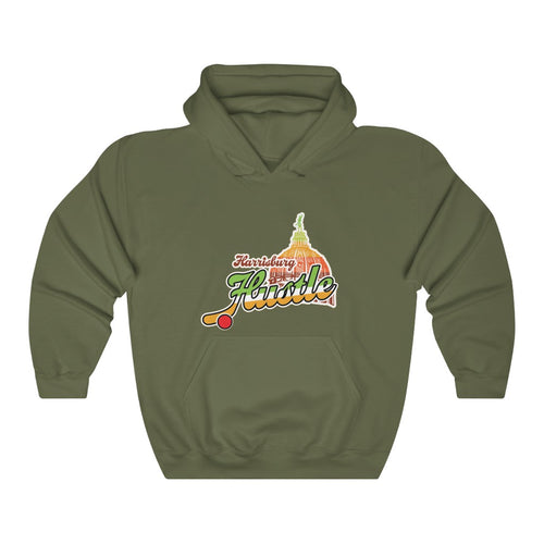 Hooded Sweatshirt - (12 colors available) - Hustle