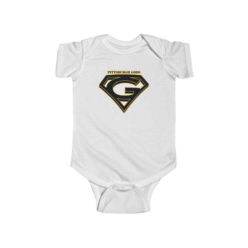 Infant Fine Jersey Bodysuit (4 colors available) - Gods