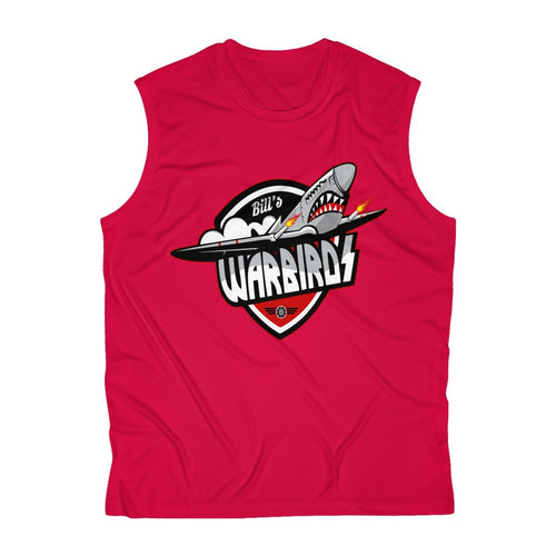 Men's Sleeveless Performance Tee(6 colors available) - Warbirds