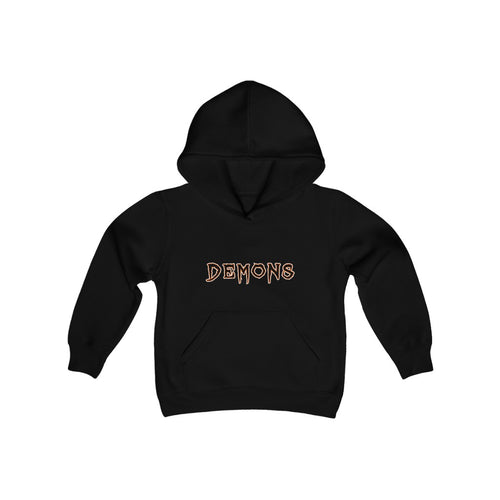 2 SIDED Youth Heavy Blend Hooded Sweatshirt(16 COLORS ) - DEMON