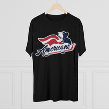 Men's Tri-Blend Crew Soft Tee - Americans