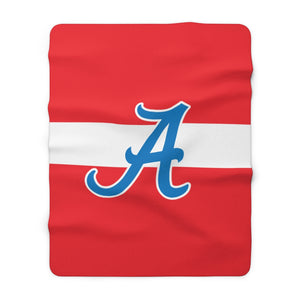 Sherpa Fleece Blanket - Americans
