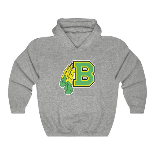 2 SIDED Hooded Sweatshirt - (12 colors available) - BRAVES