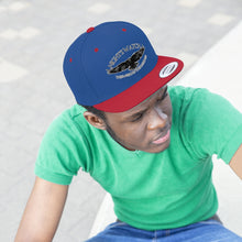 "Flat Bill ""Snapback"" Hat - (6 colors available) -  Nightswatch"
