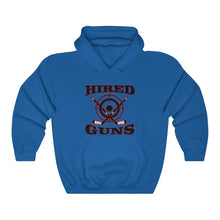 Hooded Sweatshirt - (12 colors available) - Hired guns_2