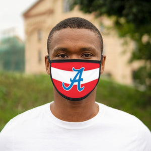 Mixed-Fabric Face Mask - Americans