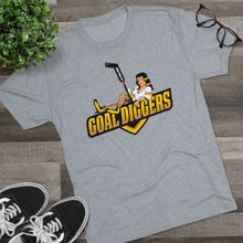 Gold Diggers Men's Tri-Blend Crew Tee