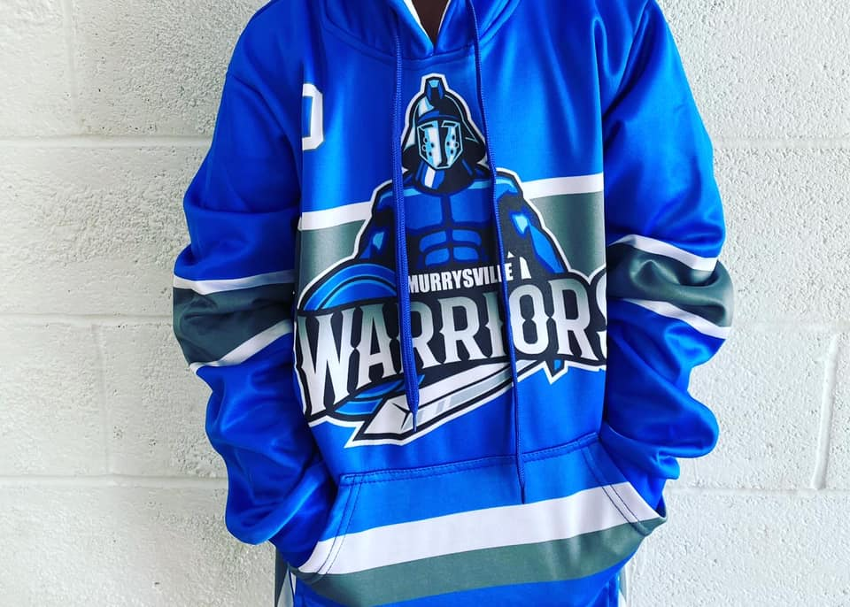 Warriors 2020 Sublimated Replica Jersey Style Hoodie