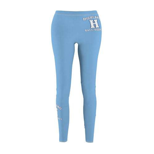 Women's Cut & Sew Casual Leggings - Highland