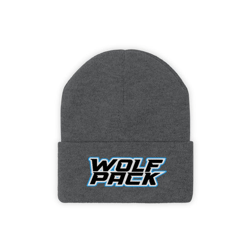 Knit Beanie- 9 COLORS - WOLF PACK