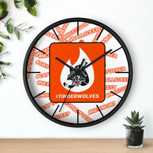 Wall clock - Tinderwolves