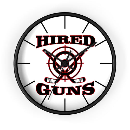 Wall clock - Hired Guns