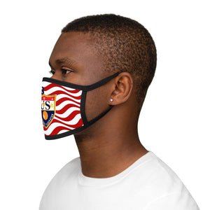 Mixed-Fabric Face Mask - USDHF
