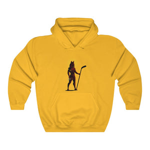2 SIDED Unisex Heavy Blend™ Hooded Sweatshirt 12 COLOR - JACKALS