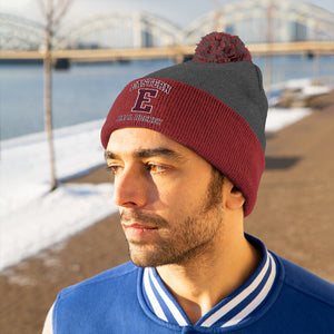 Pom Pom Beanie - (8 colors available)  Eastern