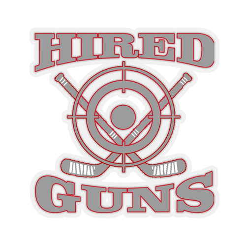 Kiss-Cut Helmet Stickers - Hired Guns