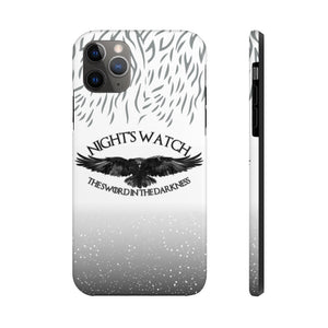 Case Mate Tough Phone Cases - (9 Phone Models)  - Nightswatch