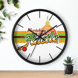 Wall clock - Hustle
