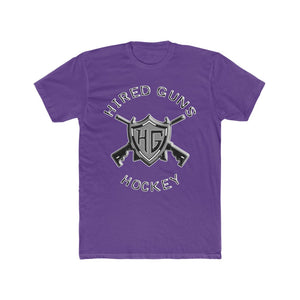 Men's Cotton Crew Tee - Hired Guns