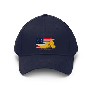 Unisex Twill Hat - 3 COLOR -  FOUNDING FATHERS
