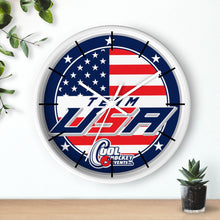 Wall clock - USA (3 colors frames available)