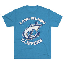 Men's Tri-Blend Crew Tee - 11 COLORS - CLIPPERS