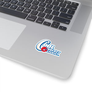 Kiss-Cut Stickers - Cool Hockey (4 Sizes)