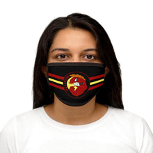 Mixed-Fabric Face Mask - Hellfish