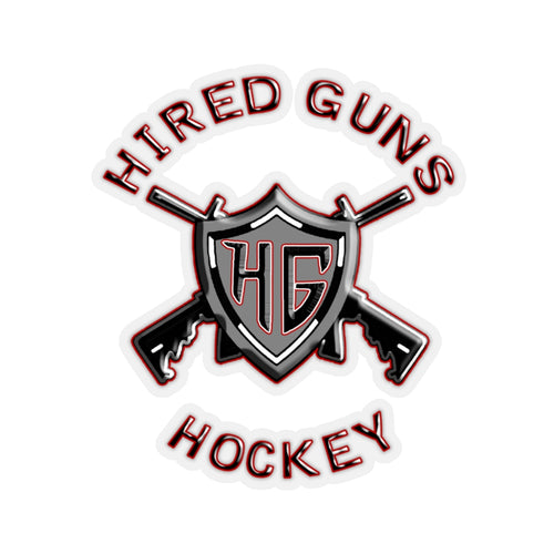 Kiss-Cut Helmet Stickers - Hired Guns_2