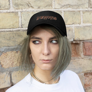 Unisex Twill Hat- DEMON