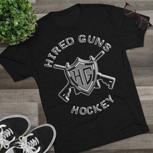 Men's Tri-Blend Crew Soft Tee - Hired Guns_2