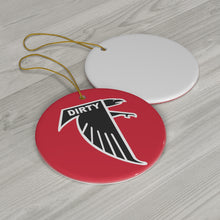 Round Ceramic Ornaments - DIRTY BIRDS