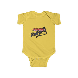 Infant Fine Jersey Bodysuit- 8 COLORS RED FOXES