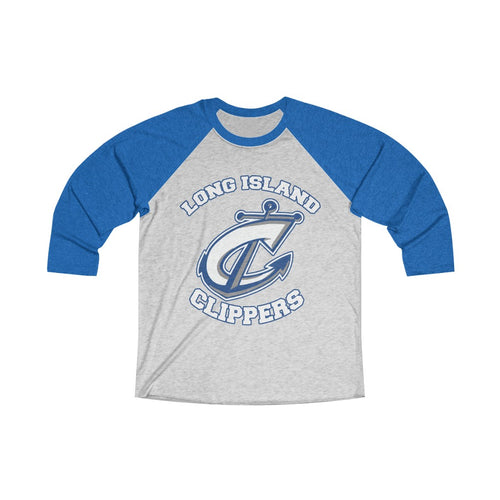 Tri-Blend 3/4 Raglan Tee - 15 COLOR - CLIPPERS