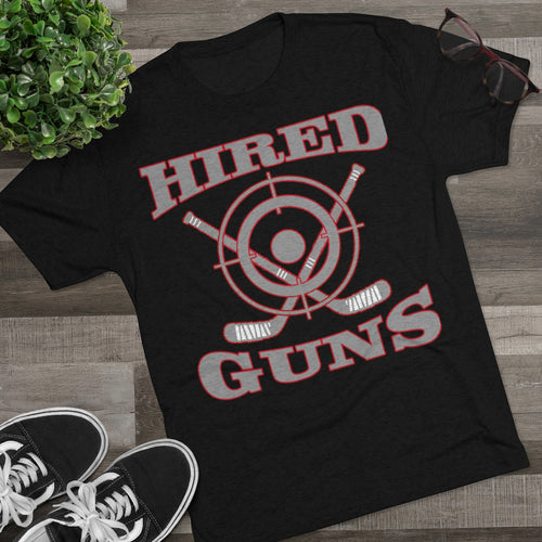 Men's Tri-Blend Crew Soft Tee - Hired Guns