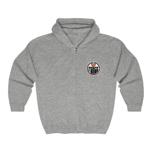 Unisex Heavy Blend™ Full Zip Hooded Sweatshirt - 4 COLOR - FORCE