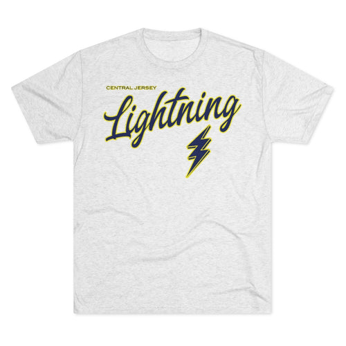 Men's Tri-Blend Crew (Soft Tee) - Lightning (10 colors available)